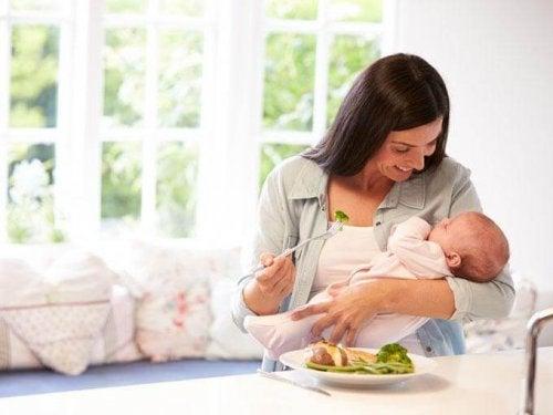 Diät nach der Geburt