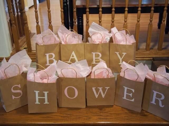 Die perfekte Babyshower wird geplant.