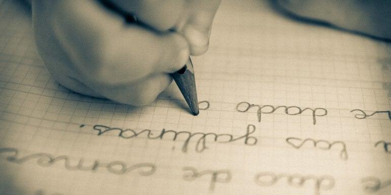 Die Handschrift Schritt für Schritt verbessern.