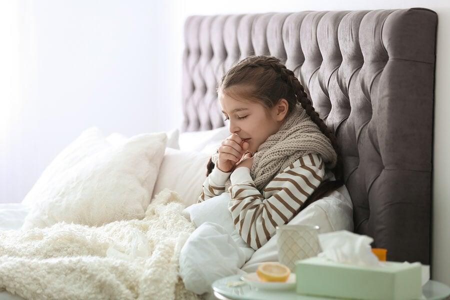 Krankheiten bei kleinen Kindern sind keine Seltenheit