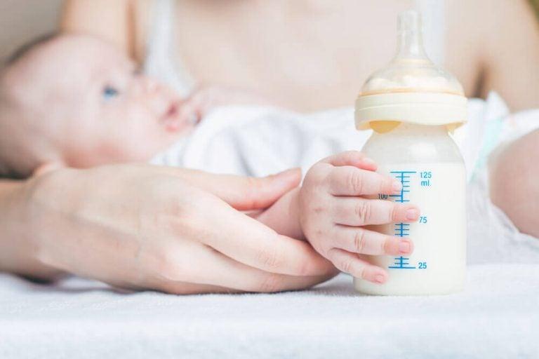 Milcharten für Babys