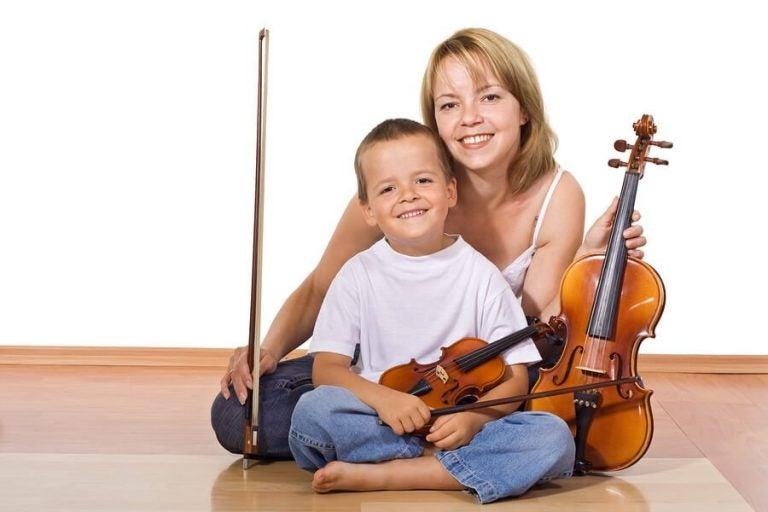 Musikinstrumente haben viele Vorteile für Kinder