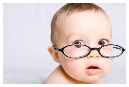 Wie Babys Farben sehen.