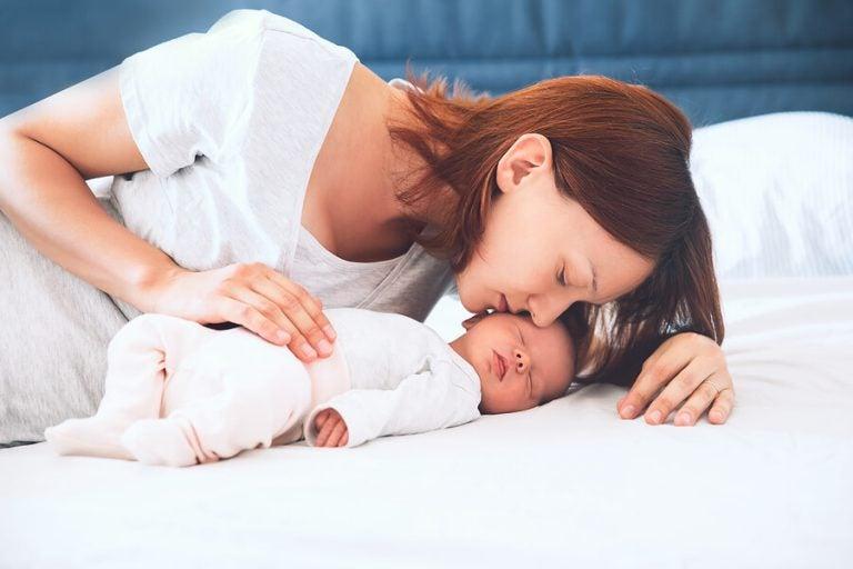Atmung von Neugeborenen