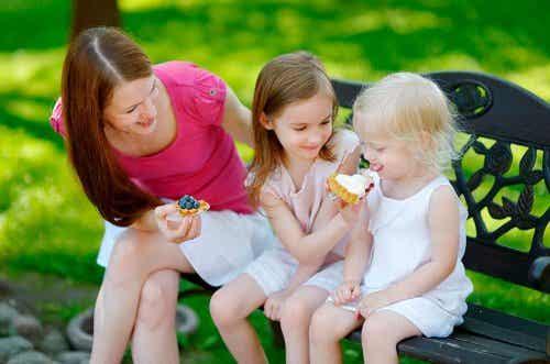 Wie lernen Kinder teilen? 4 Tipps