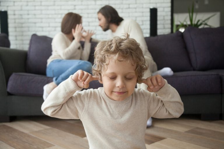 Auswirkungen einer Scheidung auf Kinder