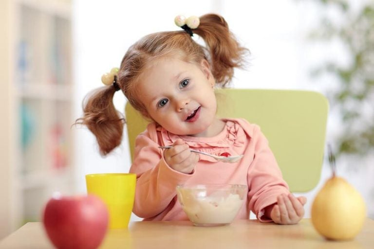 Lebensmittel zur Stärkung der Abwehrkräfte von Kindern