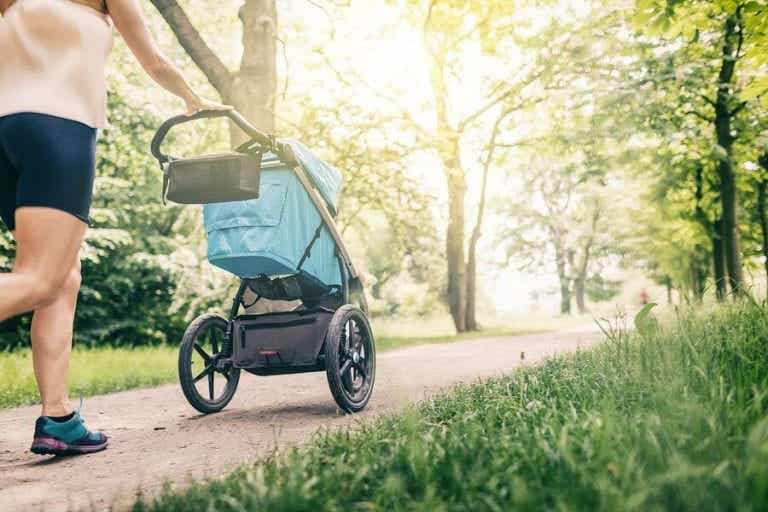 Mit Neugeborenen an die frische Luft gehen - ab wann?