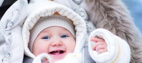 Im Winter dein Baby warm halten