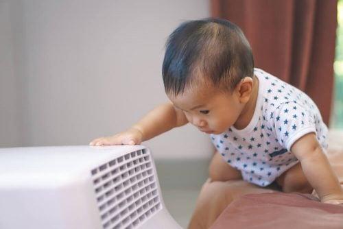 Schadet die Klimaanlage meinem Baby?