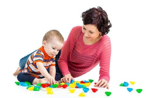 Spiele mit Mama