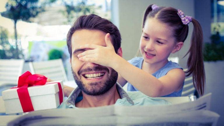Moderne Väter sind für ihre Kinder da