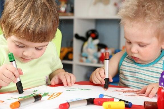 Kritzeleien von Kindern und was sie bedeuten