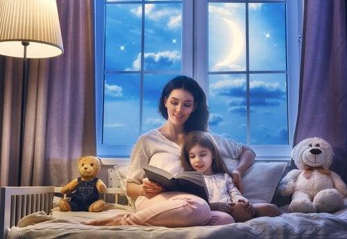Gute-Nacht-Geschichten vorlesen