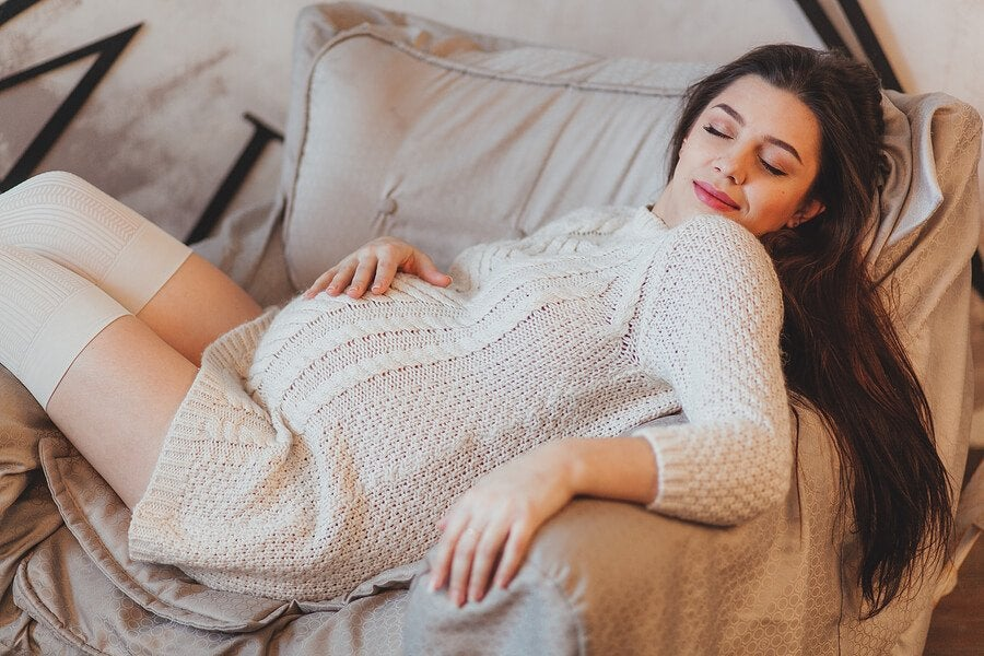 Ist es normal, während der Schwangerschaft viel zu schlafen?