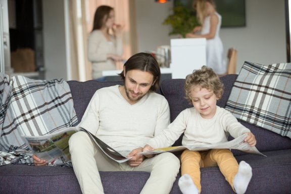Vorbildfunktion der Eltern: Kinder ahmen ihr Verhalten nach