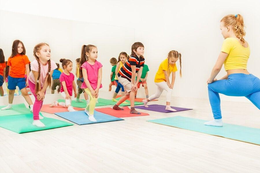 Aerobic hat für Kinder viele Vorteile!