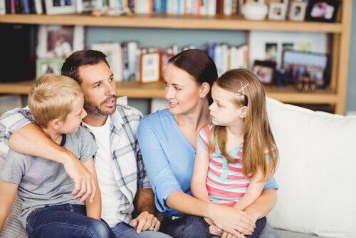 Verhaltensregeln machen das Familienleben einfacher