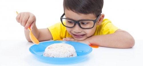 Kinder sollten Spaß am Essen haben