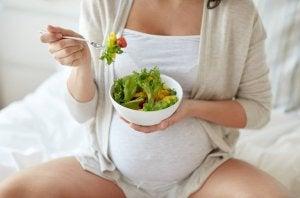 richtige Ernährung in der Schwangerschaft