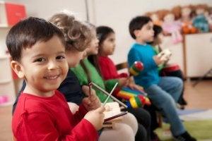 Kinder lieben Musik