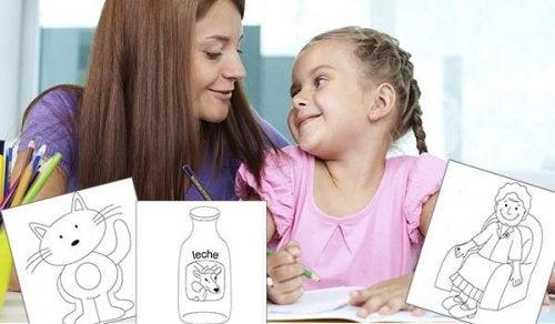 Ideen für Bilder, die dein Kind gemalt hat