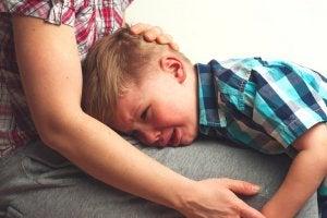 pathologische Trauer eines Kindes