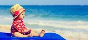 Strandurlaub mit Baby