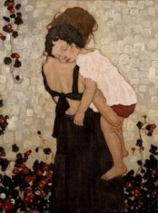 Mutterglück bedeutet auch, Opfer bringen
