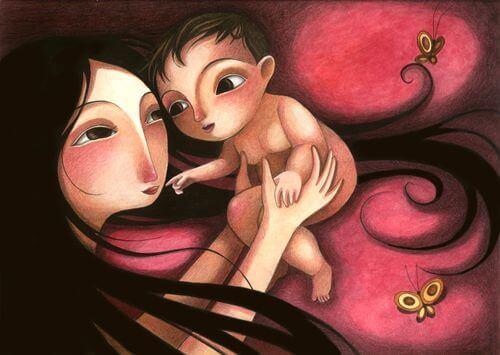 Lass dein Kind deine Liebe spüren!