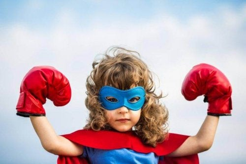 Der Batman-Effekt ist eine Strategie beim dem Kinder sich vorstellen sie wären ihr Lieblings-Superheld