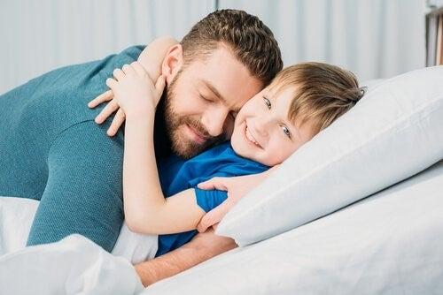 Emotionale Vitamine: Vater und Sohn