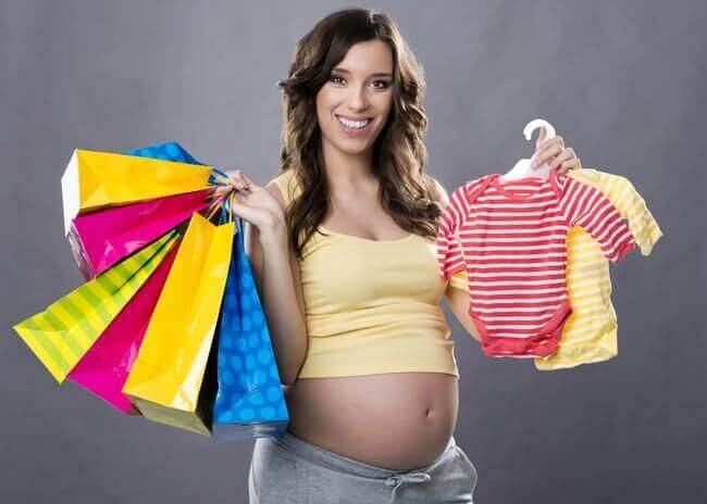 Vorbereitungen vor der Geburt des Babys