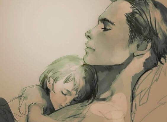 Attachment Parenting: Auch Papa hält mich ganz fest