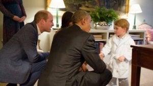 Gespräch in Augenhöhe mit dem kleinen George