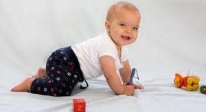 Krabbeln ist für Babys wichtig