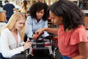 Frauen in STEM-Fächern