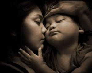 Beziehung zwischen Mutter und Kind