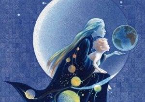 Mutter und Kind stärken ihre Seele