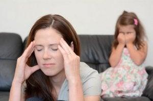 Mutter und Kind haben nicht korrekt gehandelt