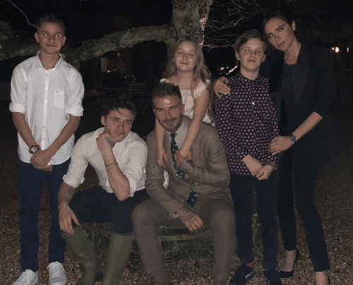 Berühmte Persönlichkeiten mit großen Familien