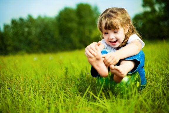 Fußpflege bei Kindern