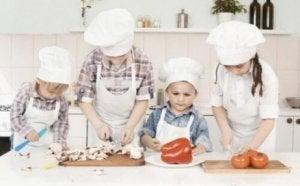 Kindliche Ernährung selbst kochen
