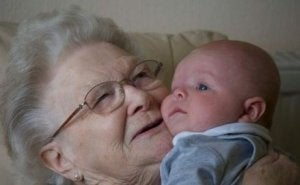 genetisches Erbe der Großmutter