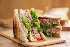 schnelle Vorspeisen: Sandwich