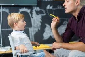 Spracherwerb von Kindern in der Schule