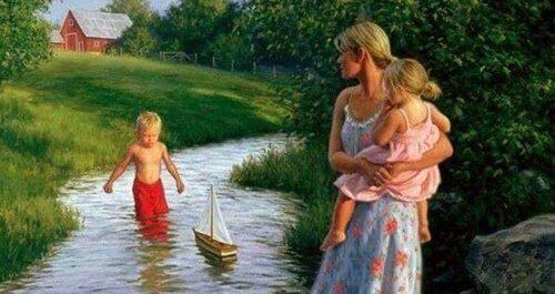 An erster Stelle stehen meine Kinder... alles andere kann heute warten!