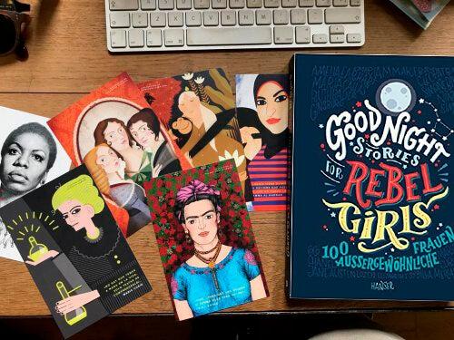 Kinderbücher für starke Mädchen