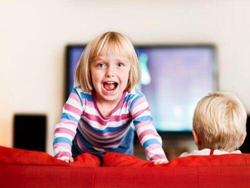 Unruhige Kinder haben zuviel Energie und wissen diese nicht zu lenken
