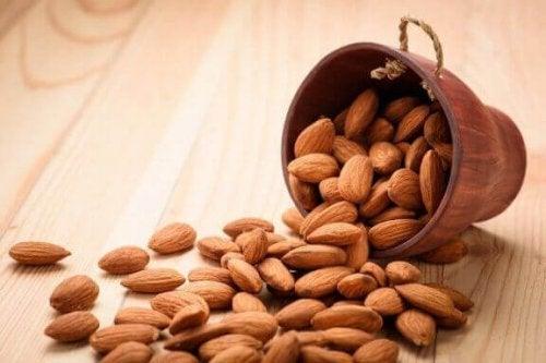10 Mandeln pro Tag sind bereits ausreichend für deine Gesundheit
